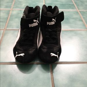 PUMA race car driving shoes